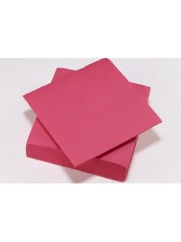 serviettes papier fuchsia