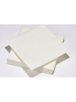 serviettes intissées blanches