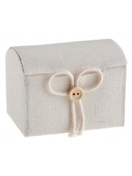 4 boîtes en coton