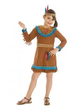Déguisement indienne sioux enfant