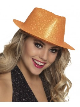 borsalino paillettes orange