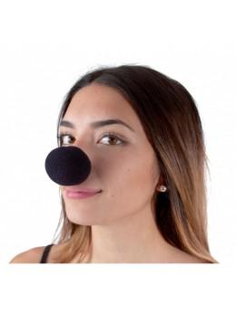 nez en mousse noir