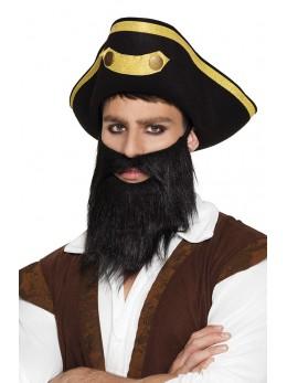 barbe noire de pirate