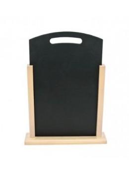 Marque table ardoise tableau sur support en bois