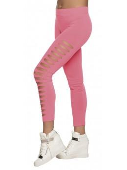 Legging gaps rose fluo