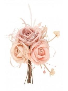 Bouquet de roses 17cm