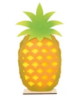 Centre de table ananas feutre 54.5cm