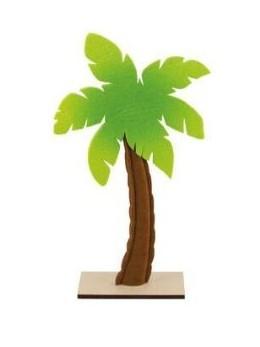 Centre de table palmier feutre 35.5cm