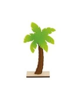 Centre de table palmier feutre 25cm