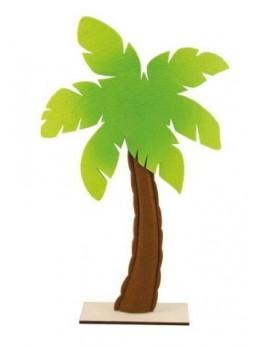 Centre de table palmier feutre 53.5cm