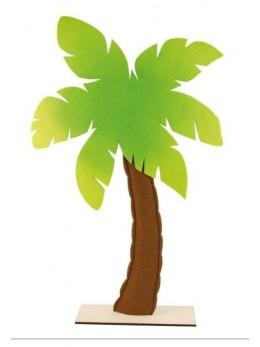 Centre de table palmier feutre 71cm