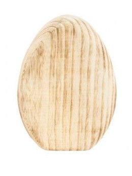 Déco oeuf en bois 21cm