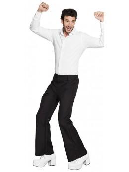 Pantalon homme disco noir