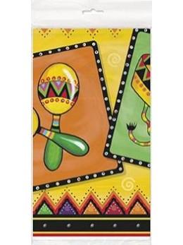 Nappe pliée fête mexicaine