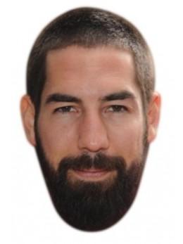 Masque carton Nicolas Karabatic
