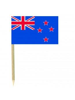 50 Mini drapeaux luxe Nouvelle Zélande