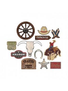 12 décorations western