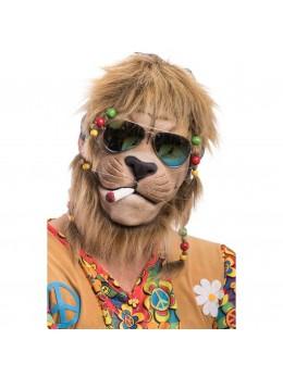 Masque de Lion hippie