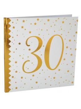 Livre d'or anniversaire 30 ans