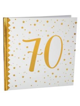 Livre d'or anniversaire 70 ans