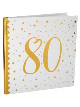 Livre d'or anniversaire 80 ans