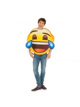 Déguisement  emoji fou rire