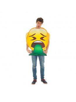 Déguisement  emoji vomito