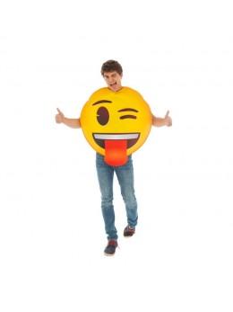 Déguisement  emoji clin oeil