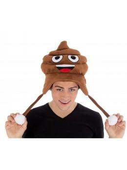 Bonnet rigolo emoji Crotte