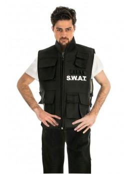 Déguisement gilet police swat