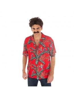Déguisement chemise magnum rouge