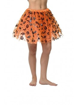 Tutu halloween orange