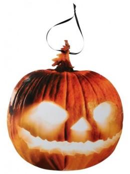 Déco carton citrouille halloween