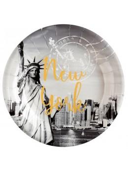 10 Assiettes New York USA