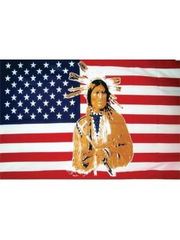 Drapeau USA indien