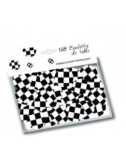 150 confetti de table damier