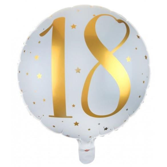 Ballon alu 18 ans