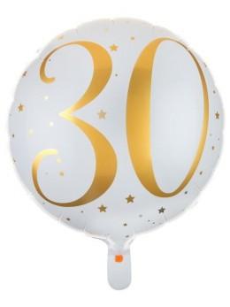 Ballon alu 30 ans