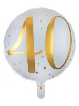 Ballon alu 40 ans