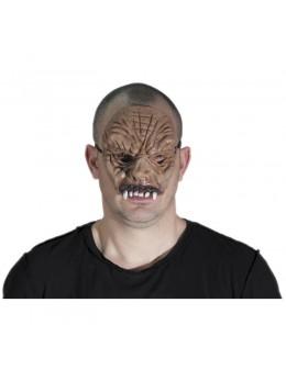 Masque latex 1/2 visage monstre