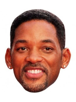 Masque carton Will Smith