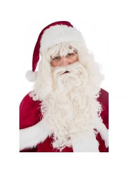 barbe et perruque père Noël luxe