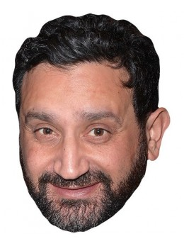 Masque carton Cyril Hanouna