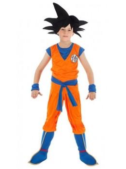 Déguisement manga enfant Goku Sayan