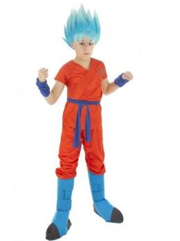 Déguisement manga enfant Goku Sayan Super