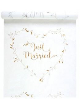 """Tapis """"Just Married"""" or"""