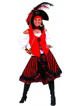 déguisement capitaine des pirates fille