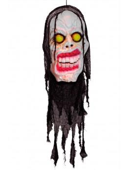 Déco tête effrayante 120 cm