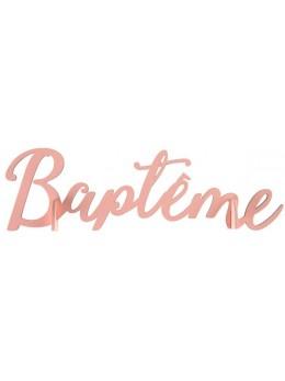Lettres Baptême corail