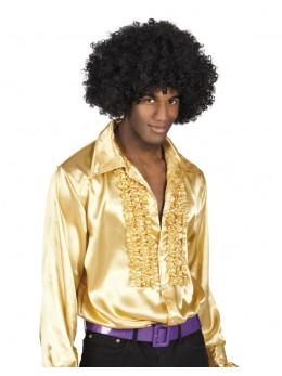 Déguisement chemise disco or